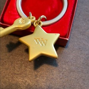 Weight Watchers Jewelry - Weight Watchers Pin and Keychain with Charms